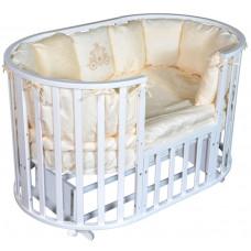 Кроватка Кедр Sofia 2 круг-овал, универсальный
