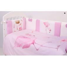 Комплект в кроватку Топотушки Фламинго