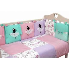 Комплект в кроватку Топотушки Балерина
